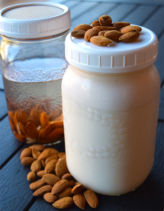 Markito Nutrition Homemade Almond Milk