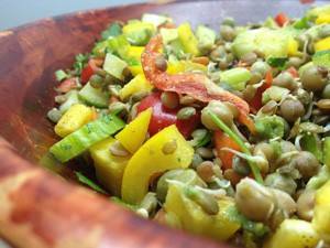 Sprouted-Bean-Mix-Salad